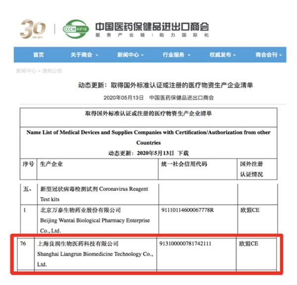 認証について(中国)