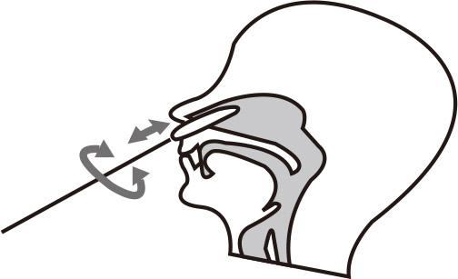 鼻咽頭スワブ