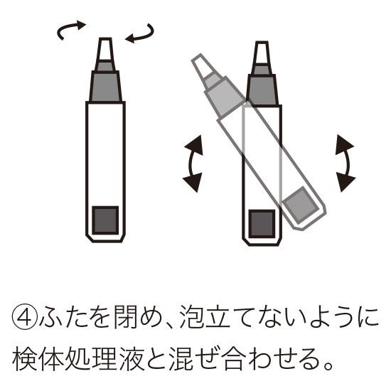 唾液での検査方法4